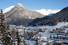 The World Economic Forum while hold its annual global threats meeting in Davos, Switzerland. Photo / Getty Images
