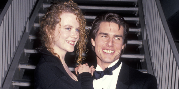 Actress Nicole Kidman and actor Tom Cruise in 1991. Photo / Getty Images