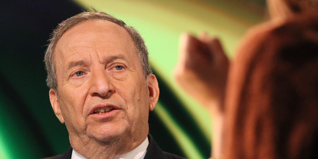 Former Treasury Secretary Lawrence Summers. Photo / Getty