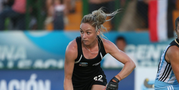 Anita McLaren in action during a match against Argentina. Photo / Getty Images