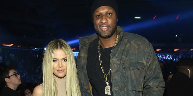 Khloe Kardashian and Lamar Odom were last seen together in February 2016. Photo/Getty