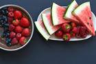 Summer fruits such as raspberries and watermelon are known as