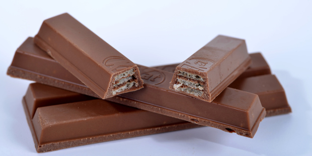 Prepare to have your mind blown when you find out what the 'chocolayer' inside a KitKat bar contains. Photo / Getty Images