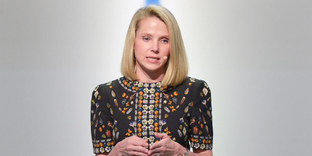 Yahoo! Chief Executive Officer Marissa Mayer. Photo / Getty Images