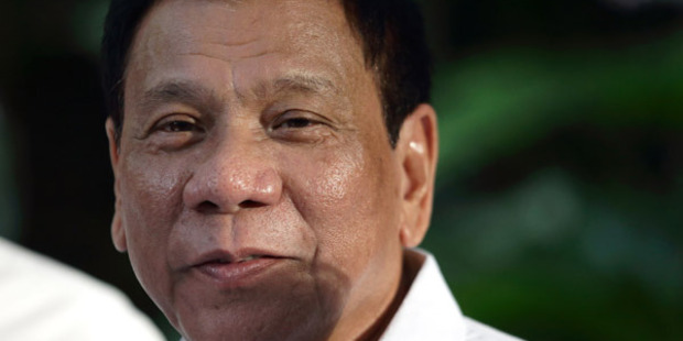 Philippine leader Rodrigo Duterte was criticised over openly calling for summary executions of suspected drug dealers. Photo / Getty Images