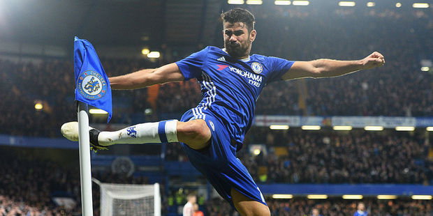 Chelsea star Diego Costa. Photo / Getty Images