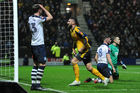 Olivier Giroud celebrates scoring Arsenal's 2nd goal during their FA Cup match against Preston North End. Photo / Getty Images