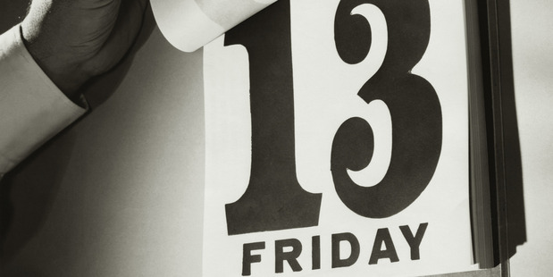 In 2017, there happen to be two Friday the 13ths - January 13 and October 13. Photo / Getty