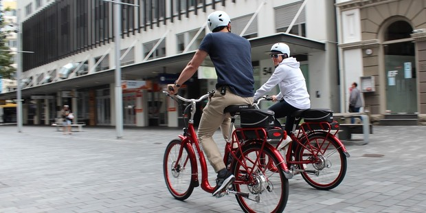 The electric bikes have a distance range of up to 100 kilometres.