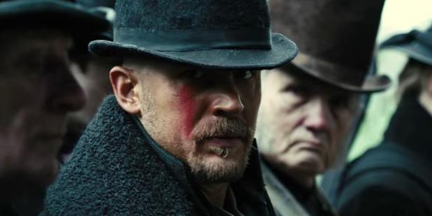 Loading Tom Hardyas James Keziah Delaney in the television series, Taboo.