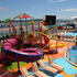 The main deck boasts a kids' water park. PHOTO / PETER DE GRAAF