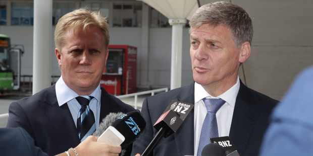Prime Minister Bill English. Photo / Nick Reed