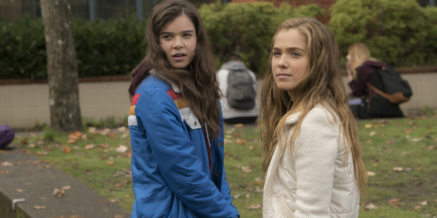 A scene from the film, The Edge of Seventeen.