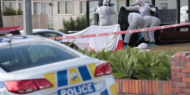 Loading Police investigate after a body was found in Te Atatu this morning. Photo / File / Bevan Conley