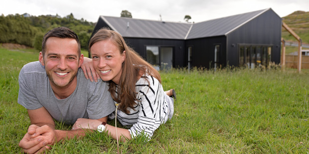 Josh and Candice Hodson's property has gone up more than $120,000 in value. Photo/George Novak