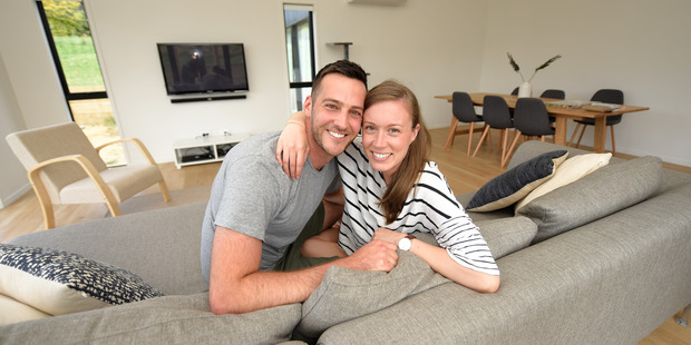 Josh and Candice Hodson's property has gone up more than $120,000 in value, and they couldn't be happier. Photo/George Novak