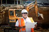 """It's a phenomenal working environment,"" says Paul Anning, at the site of a new CBD building. Photo / Andrew Warner."