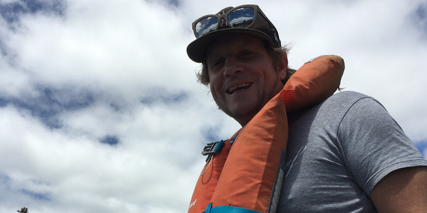 A photo of Colin McCormick, taken the day he went missing on Lake Rotoiti. PHOTO/SUPPLIED