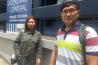Nawon Lee and Jungchul Chae have made a report to police. Photo / Lincoln Tan