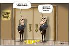 Cartoon: Trump's golden shower