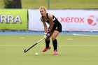 New Zealand's Frances Davies in action in the international hockey match, NZ Black Sticks v Malaysia, Photo / Kerry Marshall / photosport.nz