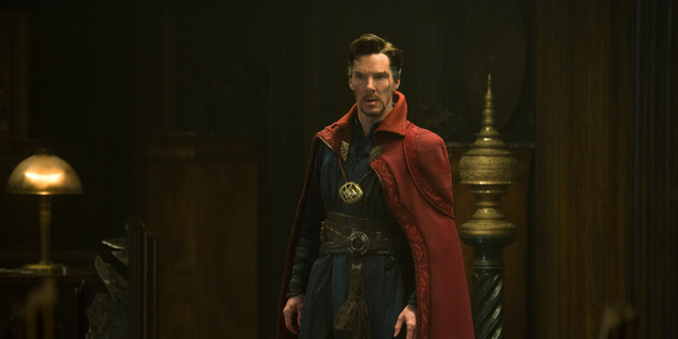 Doctor Strange doesn't resort to guns in order to show action. Photo/Supplied