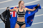 MAGNETIC: Athletics New Zealand's poster girl, Eliza McCartney, will be signing autographs at the Potts Classic in Hastings this Saturday. PHOTO/NZME.