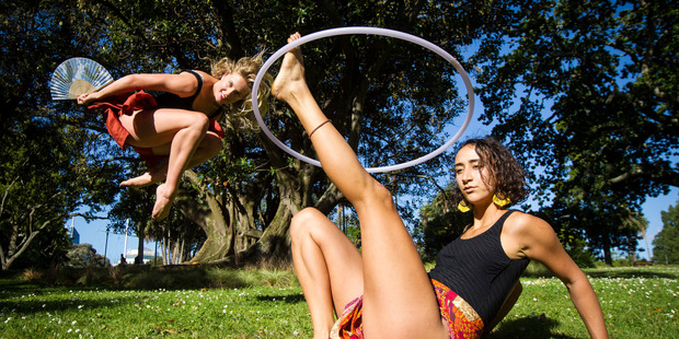Loading Jadyn Burt, 21, and Freddy Carr, 23, will perform at Splore as the dancing duo Fish and Fox. Photo/ Jason Oxenham