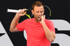 New Zealand's Michael Venus lacked crowd support in his close contest with world No 28 Feliciano Lopez. Photo / Photosport.