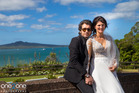 Bronia Tindall and Fabrizio Clementi on their wedding day. Photo by Ben Franks/Steve May/one2one Photography
