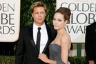 Brad Pitt and Angelina Jolie Pitt attended the Golden Globes together in 2007. Photo / AP file