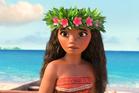 Moana, voiced by Auli'i Cravalho, in a scene from the animated film, Moana. Photo/AP