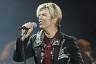 David Bowie at Madison Square Garden in New York in 2003. Photo / AP