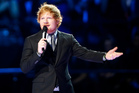Ed Sheeran dropped the new songs with very little warning after an extended hiatus. Photo/AP