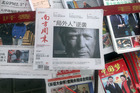 Chinese media are concerned about souring relations with the US. Photo / AP