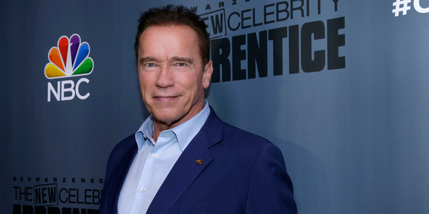 Arnold Schwarzenegger, the new boss of The New Celebrity Apprentice, was targeted in a tweet by Donald Trump. Photo / AP