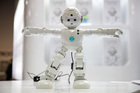 Lynx, a humanoid robot demonstrated at the Consumer Electronics Show, is powered with Amazon's intelligent personal assistant, Alexa. Photo / AP