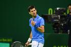 Tennis player Novak Djokovic uses mindfulness to help his game. Photo / AP
