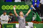 Novak Djokovic triumphs in a drama-filled Qatar Open final over Andy Murray. Photo / AP