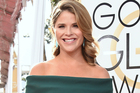Jenna Bush Hager arrives at the 74th annual Golden Globe Awards at the Beverly Hilton Hotel. Photo / AP