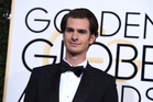 Is this the face of a stoned man? Andrew Garfield arrives at the 2017 Golden Globes. Photo/AP