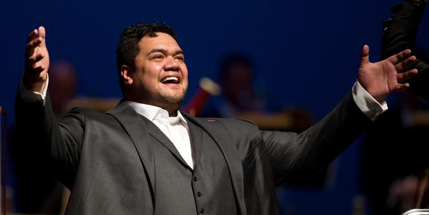 "Pene Pati has a ""God given"" voice, says a leading opera teacher. PHOTO /STEPHEN PARKER"