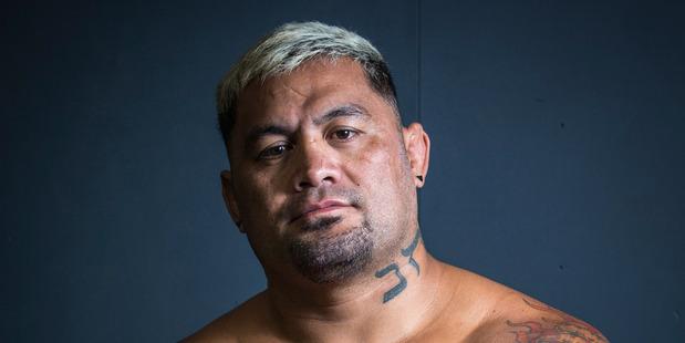 UFC fighter Mark Hunt. Photo / Greg Bowker
