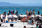 Beachgoers and holidaymakers rejoice - summer is coming. Photo / Alan Gibson