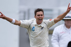 New Zealand's Trent Boult and fellow new ball bowler Tim Southee are expected to test Bangladesh's batsmen. Photo / New Zealand Herald Photograph by Brett Phibbs.