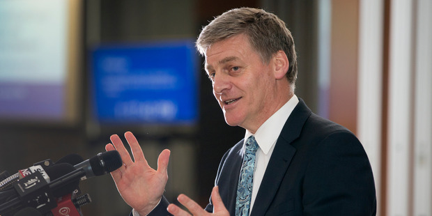 Bill English is on his first official overseas trip as Prime Minister. Photo / Mark Mitchell