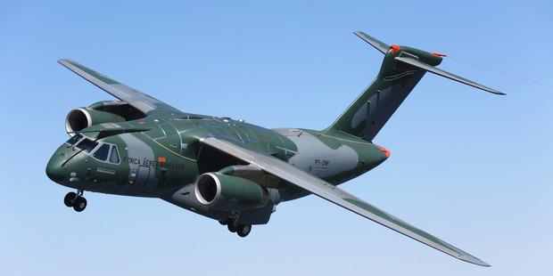 Embraer KC390. Photo / Supplied