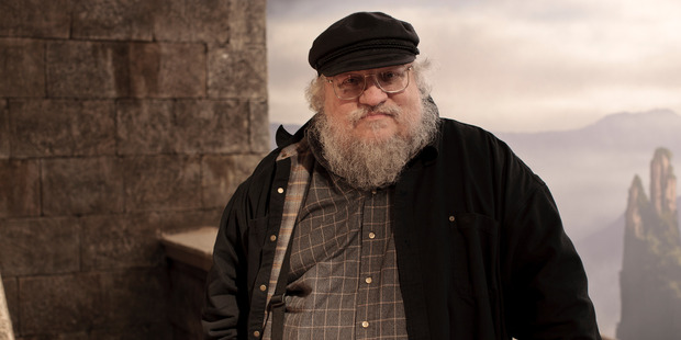 The author of the A Song of Ice and Fire series George R R Martin. Photo/Supplied