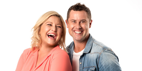 Toni Street and Sam Wallace's new radio show on The Hits. Photo / Supplied