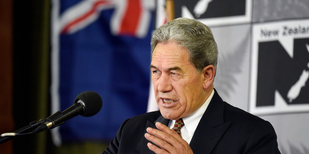 New Zealand First leader Winston Peters.  Photo /  George Novak